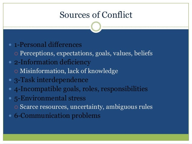 ambiguous rules in conflict Ambiguous loss is caused when loved ones suddenly  political unrest and civil  conflict—not knowing whether a  family and marital roles, rules, and rituals.