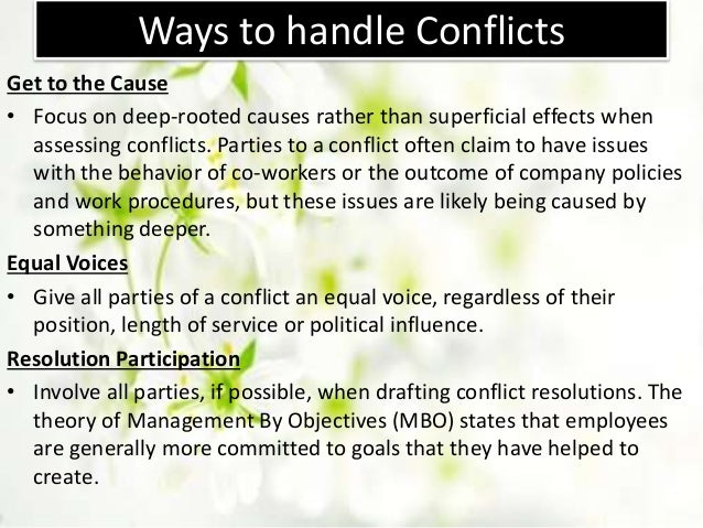 """the concept of conflict management in organizations """"conflict, conflict prevention and conflict management and beyond: a conceptual exploration"""" is a concept paper published by the central asia-caucasus institute & silk road studies program."""