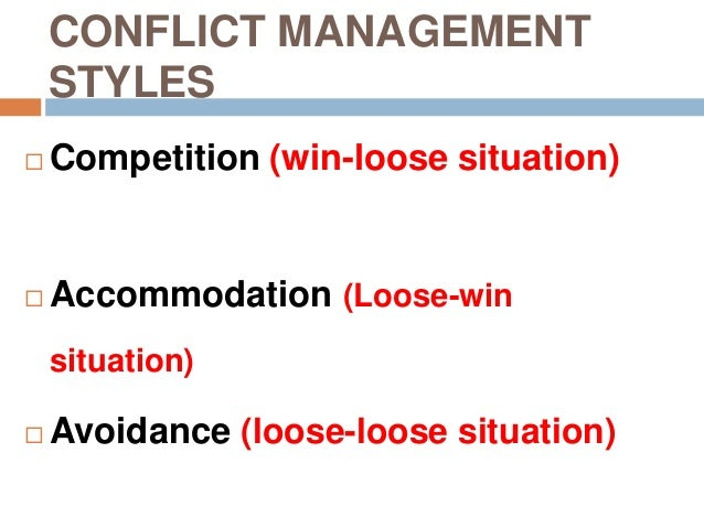 examples of family conflict management For example, a family member may have difficulty sleeping, begin to perform  poorly  on the other hand, the aggressive approach to conflict resolution tends  to.