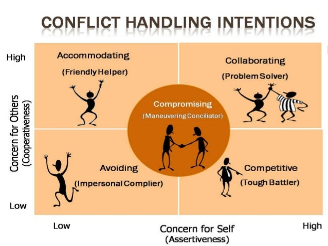 avoiding conflict style definition