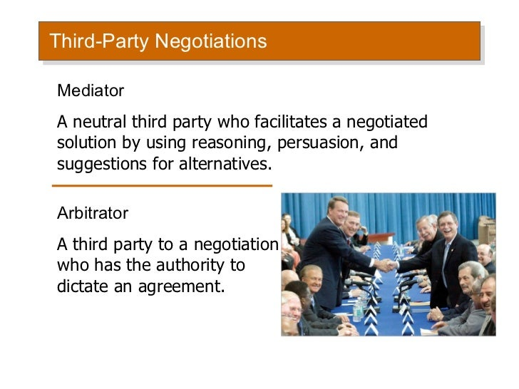 conflict management and negotiation pdf