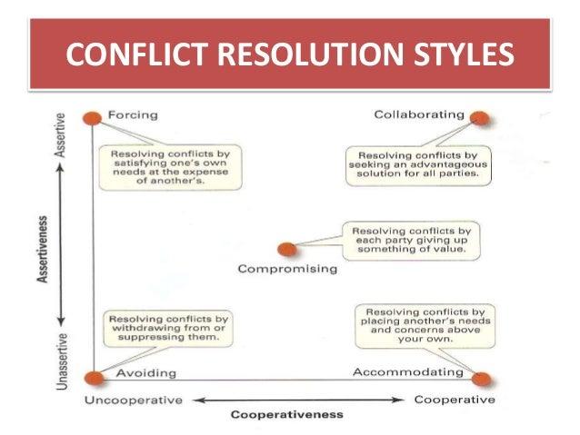 Accommodating style of leadership