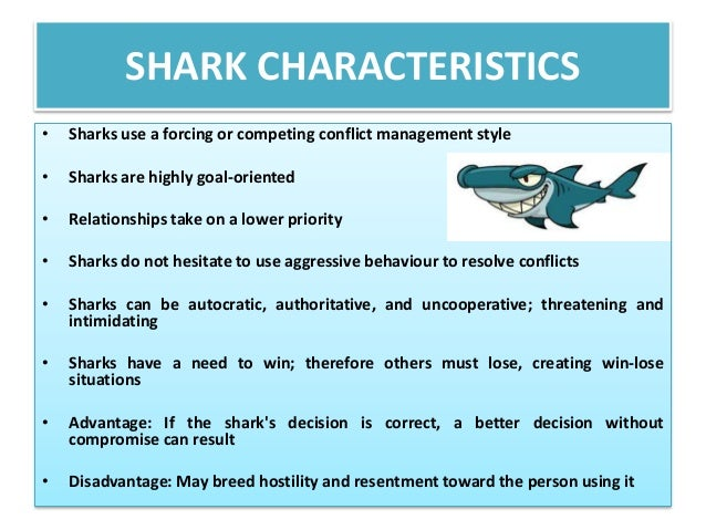 characteristics of sharks Sharks have personality traits, study suggests date: october 2, 2014 but are usually defined by individual characteristics such as how the species of shark.