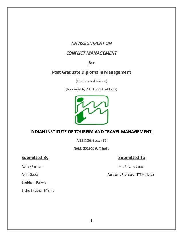 Printable Worksheets conflict management worksheets : Conflict management by Bidhu B Mishra