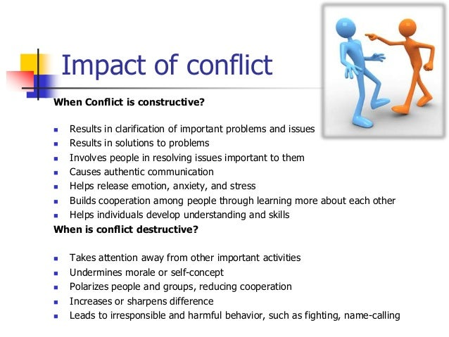 effectively addressing conflict in the workplace