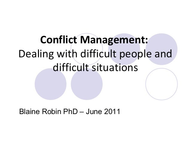 nursing conflict management Conflict is a consistent and unavoidable issue within healthcare teams despite training of nurse leaders and managers around areas of conflict resolution, the.