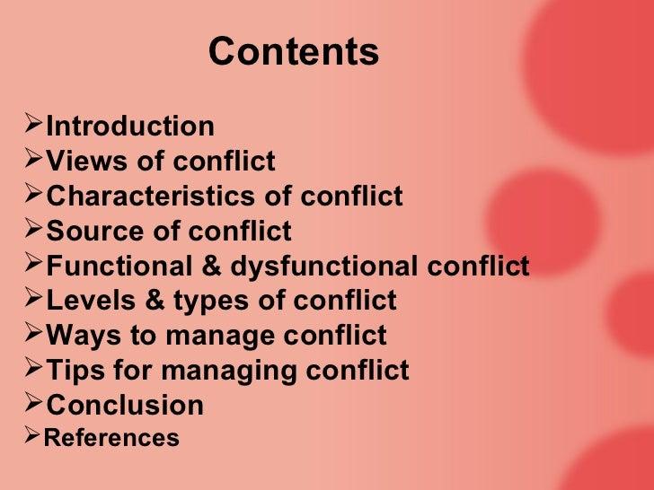 Conflict management ppt.