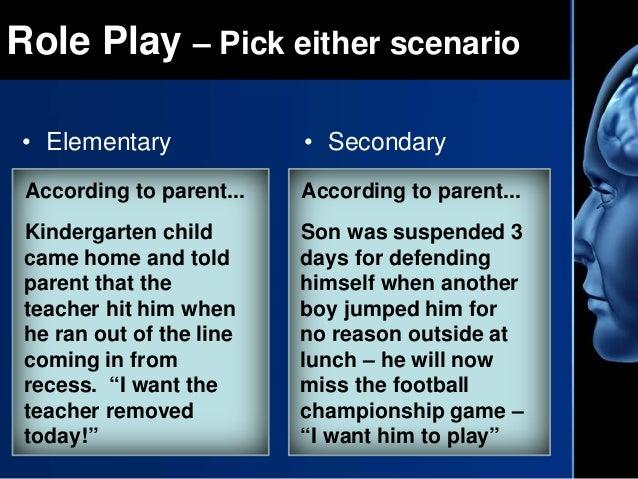 Conflictnegotiation scenario essay