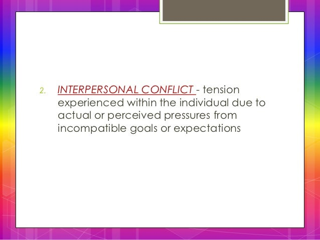 substantive and emotional conflict How to reduce conflict daniel shapiro, harvard international negotiation program: for effective conflict resolution, emotional intelligence is essential.