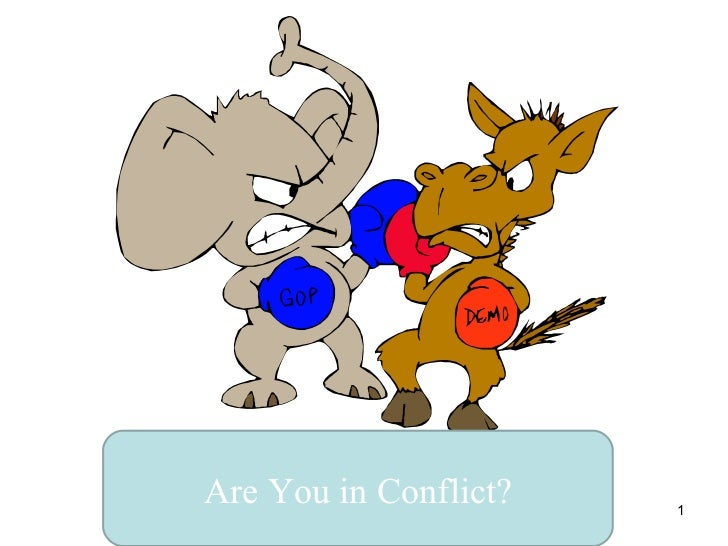 Are You in Conflict?