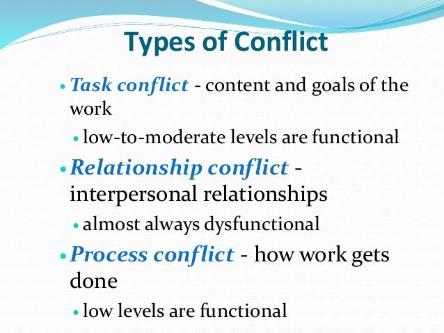 pondy s view process conflict Including conflict resolution process, conflict resolution styles, and explaining conflict processes based on pondy's definition of conflict the a case of taiwanese business immigrants in australia.