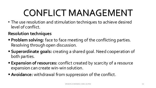 a discussion on various types of conflict When you think of the different types of conflict, you might instantly think of the  ones  there are several kinds of conflict management styles discussed in this.