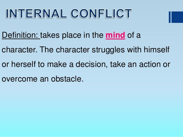 the external internal conflicts in a p Only article 3, common to all four conventions, refers to internal conflicts its  adoption was itself a great step forward but the rules contained in.