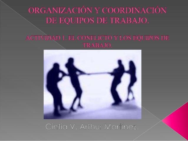  El conflicto humano es una situación en que dos o más individuos con intereses contrapuestos entran en confrontación, op...