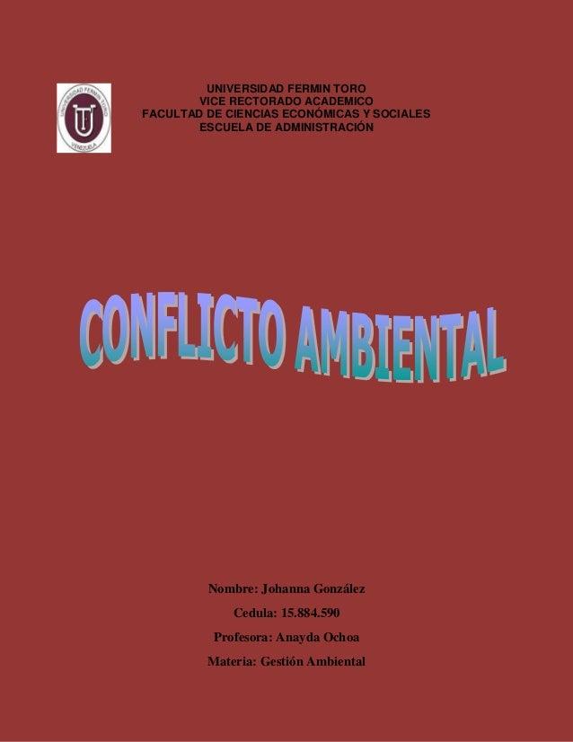 UNIVERSIDAD FERMIN TORO VICE RECTORADO ACADEMICO FACULTAD DE CIENCIAS ECONÓMICAS Y SOCIALES ESCUELA DE ADMINISTRACIÓN Nomb...