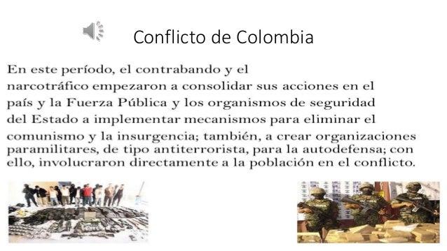 Conflicto de Colombia