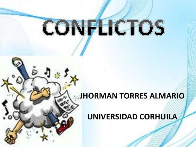 JHORMAN TORRES ALMARIO UNIVERSIDAD CORHUILA