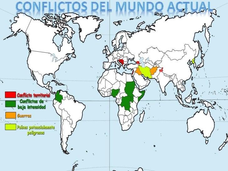 Resultado de imagen de conflictos del mundo actual