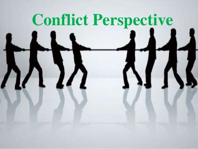 Perspectives on conflicts and disputes Essay