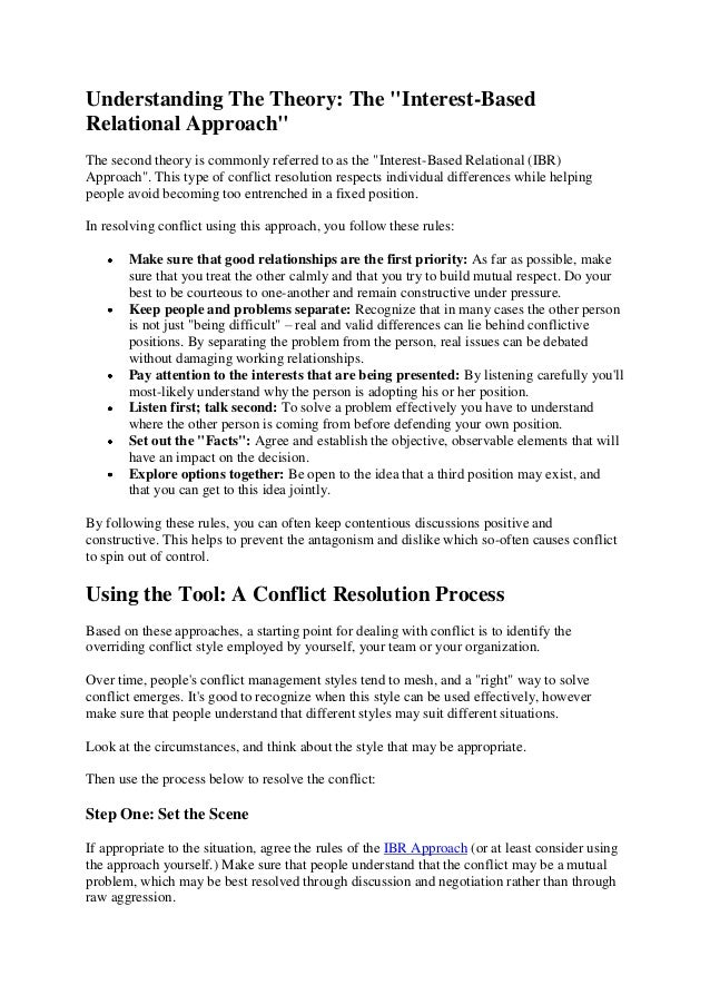 Printable Worksheets conflict management worksheets : Conflict resolution