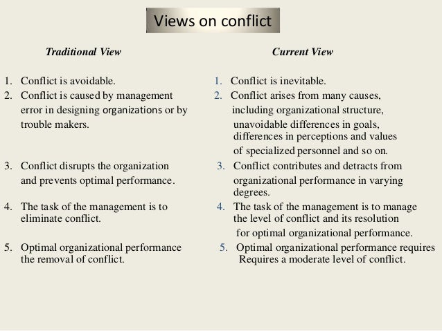 conflict of views Such a view tends to be two-dimensional: conflict of interest is either bad, or something to overrule if, for instance, the item is not overpriced or the relative is well-qualified but since so many nonprofit interactions are non-financial in nature, we need to understand the gray areas beyond simple financial benefit in other words, we need .