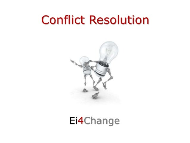 Conflict Resolution Ei4Change