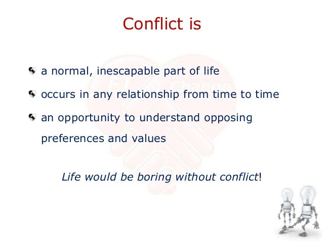 How to solve a conflict in a relationship