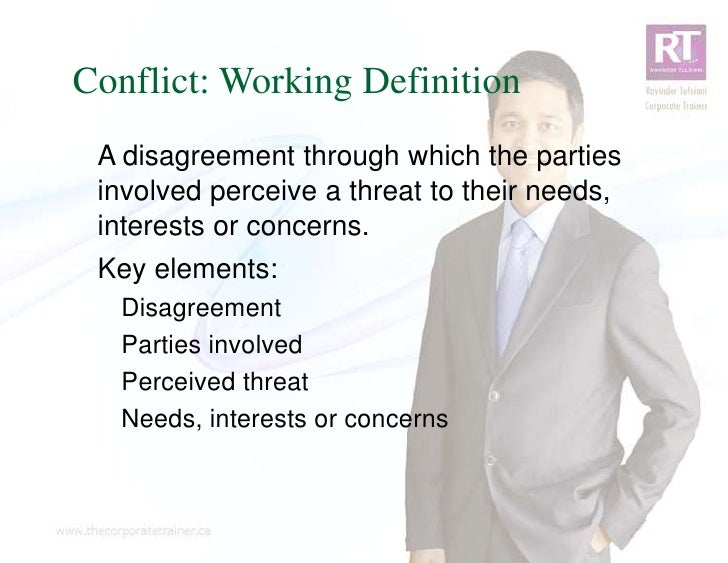 essay workplace conflict