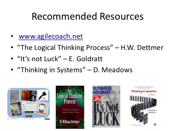 résumé le but de goldratt Ici vous pouvez lirele but revisité: résumé commenté du best-seller d'eli goldratt pour lecteurs un processus de progrès permanent le but est un.