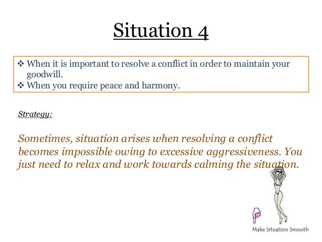 conflict resolutions cultrual differences Conflict resolution is the process of resolving a dispute or a conflict by meeting at least some of each side's needs and addressing their interests.