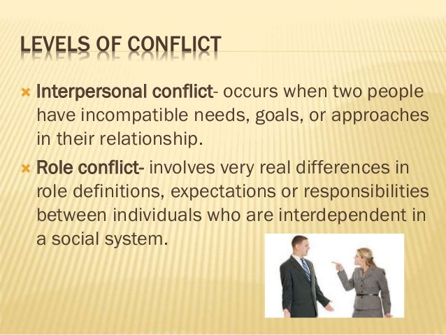 types of conflict in psychology