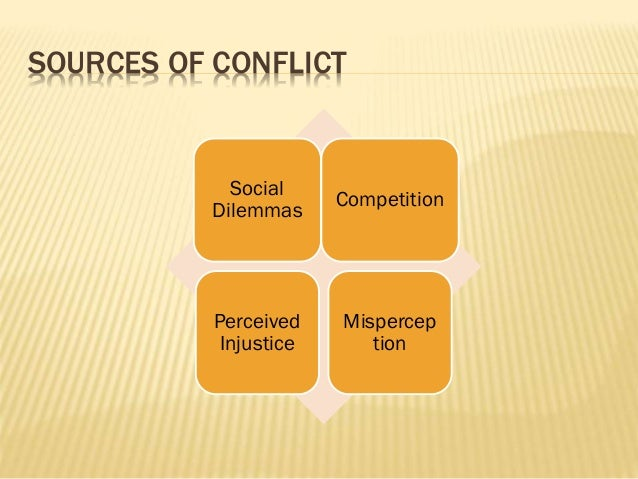 conflicts and dilemmas