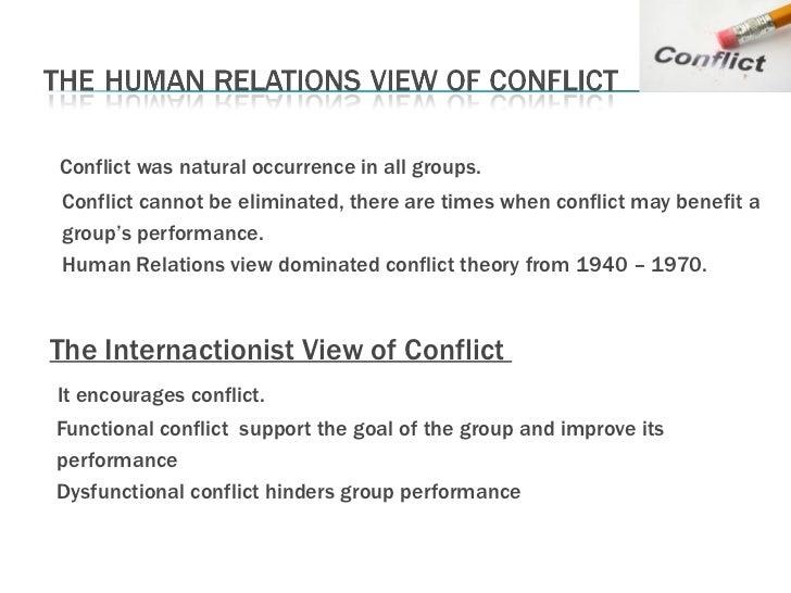 Conflict is inevitable essay