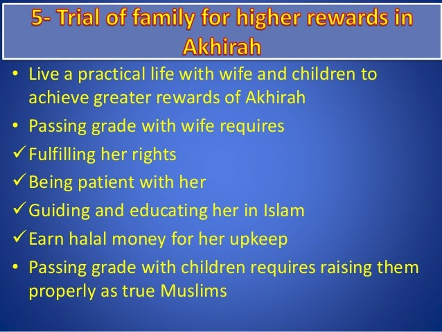 Conflicts & challenges in muslim families