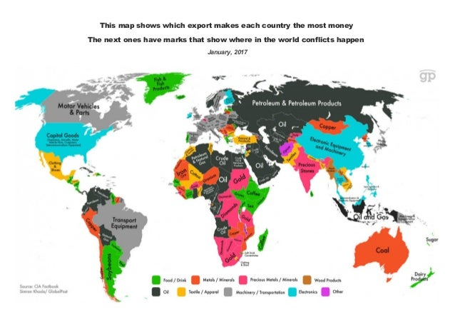 Conflicts & Resources World Map