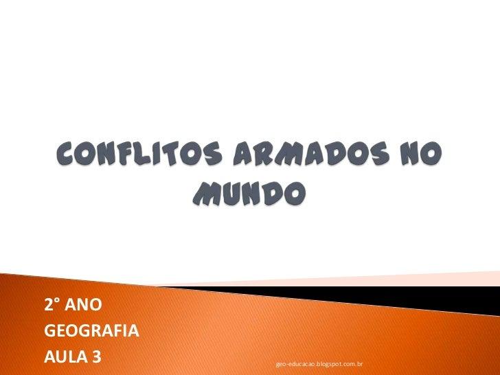 2° ANOGEOGRAFIAAULA 3      geo-educacao.blogspot.com.br