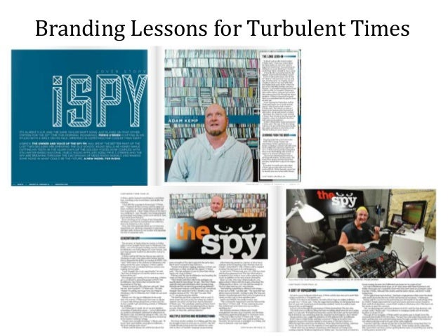 Branding Lessons for Turbulent Times