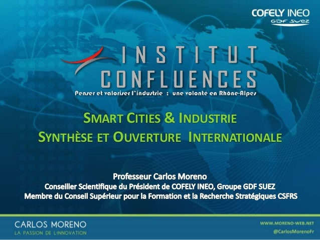 1 SMART CITIES & INDUSTRIE SYNTHÈSE ET OUVERTURE INTERNATIONALE