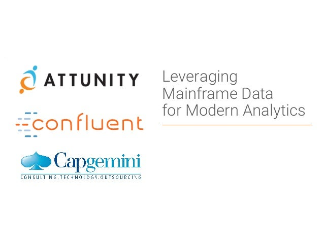 1Confidential Leveraging Mainframe Data for Modern Analytics