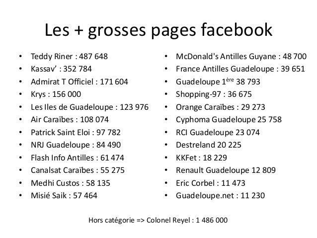 Indice EFIW • Intensité Web des Entreprises en Guadeloupe – Faible intensite Web : entreprises avec un indice Web <20% – M...