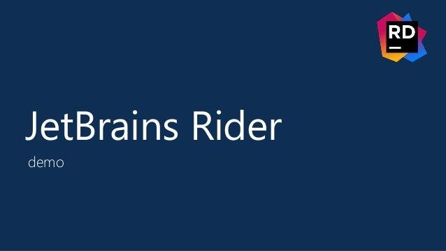 JetBrains Rider demo
