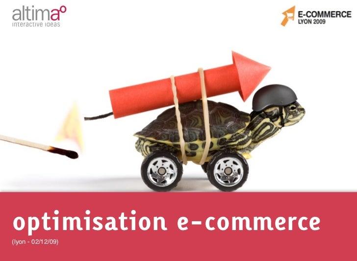 optimisation e-commerce(lyon - 02/12/09)