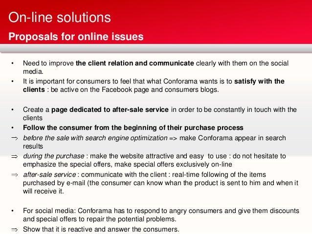 Retail Management - Conforama - Conforama 95