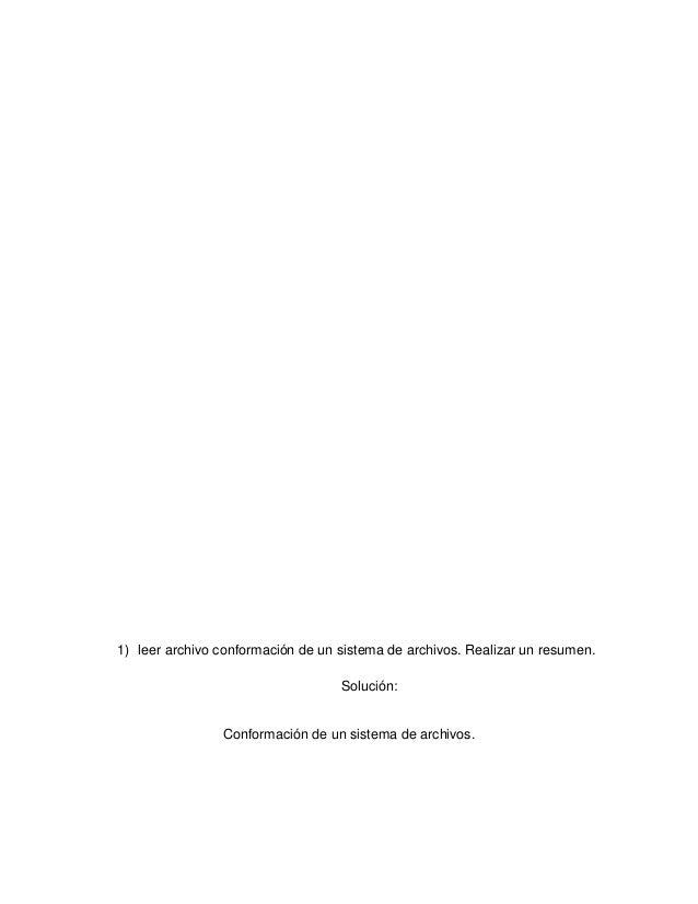 Conformación de un sistema de archivos Slide 2