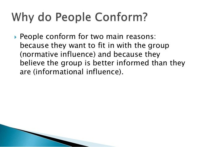 conformity compliance and obedience and their Category: papers title: factors influencing conformity and obedience  these  is that in compliance there is a request for a person to behave in a certain (an.