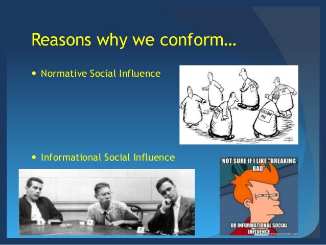 Social: Normative & Informational Social Influence ...