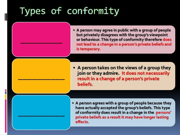 the importance of conformity in a culture Learning objectives summarize the social psychological literature concerning differences in conformity between men and women review research concerning the relationship between culture and conformity.