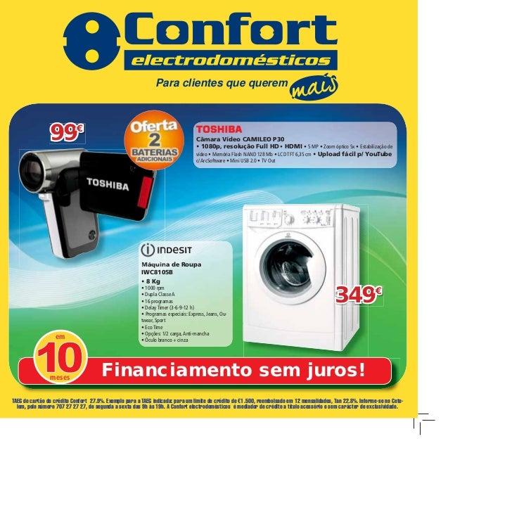 Para clientes que querem                99€                                                               Câmara Vídeo CAM...