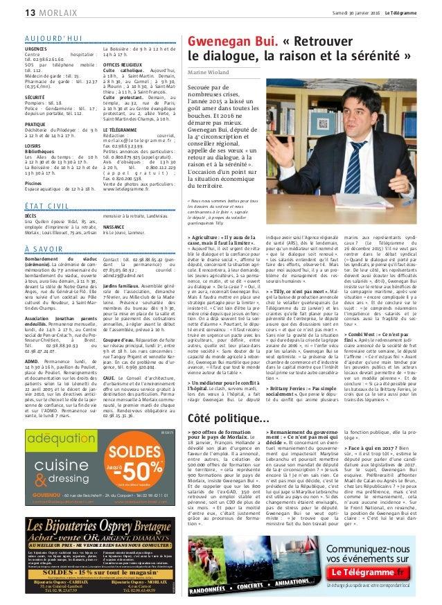 Côté politique... > 900 offres de formation pour le pays de Morlaix. Le 18 janvier, François Hollande a dévoilé son plan d...