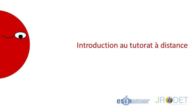 Introduction au tutorat à distance